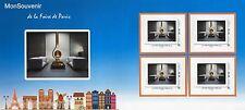 Bloc collector de 4 timbres adhésifs mon souvenir Foire de paris 2014