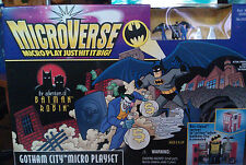 Microverse Batman & Robin Gotham City Playset New MIB