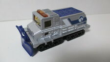 Loose mint Matchbox 2000 #78 SNOW GROOMER silver & blue w/logo (chase) hunt