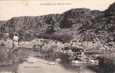 MAROC MOROCCO SCENES ET TYPES DU MAROC campagne de 1925 soldats se lavant