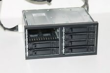 "HP .. CAGE HDD SFF 8x2.5"" SAS + Cables ..Ref: 496074-001 & 498426-001"
