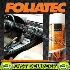 Foliatec MATT BLACK Car Interior Dashboard Door Plastic Vinyl Spray Paint Can