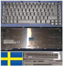 Clavier Qwertz Suédois ACER Aspire 1640 4100 NSK-H3M0W 9J.N5982.M0W Noir