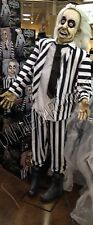 Frontgate Grandinroad Halloween Beetlejuice life size Animated Talking Prop 6'