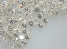 Natural Loose Wholesale Diamond Lot 50pc 1.9mm 1.40cts F Color VS-SI Clarity