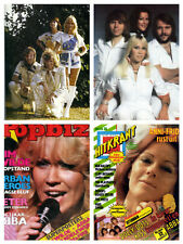 ABBA HUGE collection - over 1500 photos & clippings - scanned collection