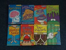 michael lawrence 7 jiggy mccue books incl Toilet of Doom