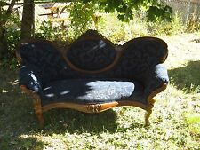 Antique Victorian Settee Original