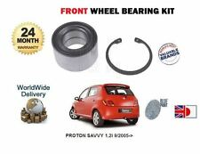PROTON SAVVY 1.2 D4F 2005--  FRONT WHEEL BEARING  KIT COMPLETE