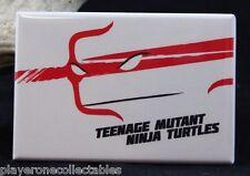 """TMNT Raphael 2"""" X 3""""  Fridge / Locker Magnet. Teenage Mutant Ninja Turtles"""