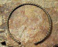 Wikinger Halsreif Herren Torques Bronze 41g Wikingerschmuck Halskette