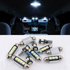 XENON WHITE  INTERIOR CAR LED LIGHT BULBS KIT For MAZDA RX 8 2003-2012