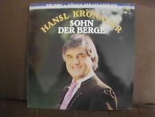 """Hansl Krönauer - Sohn der Berge  12 """"  Vinyl  LP"""