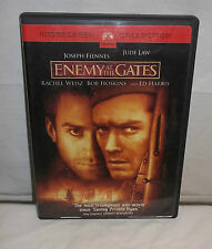 Enemy at the Gates DVD 2001 Wide Screen Collection Movie EUC! Joseph Fiennes