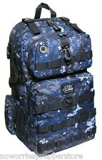 NAVY DIGITAL CAMO BACKPACK USN Tactical MOLLE PACK Bug Out Bag EDC Hydration