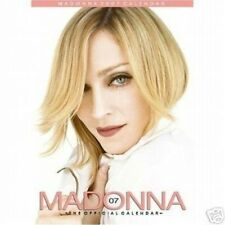 MADONNA  OFFICIAL 2007 CALENDAR, NEW