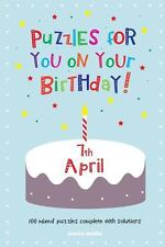 Puzzles for You on Your Birthday - 7th April (2014, Paperback)