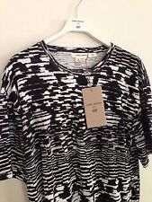Isabel Marant H&M Mens Black White Shirt size Large  *Balmain *Supreme