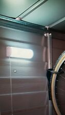 Solar Powered Garden Shed/Garage Light/5 White LEDs/On/Off Switch/Fittings inc.