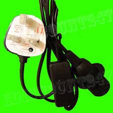 CE CERTIFIED SES E14 Edison Screw (BLACK) 3 Pin Light Plug Lamp Holder UK SELLER