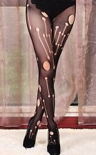 Fishnet Stockings Tights Pantyhose Circuit Board Steam Punk Fasion Style Digital