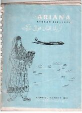 ARIANA AFGHAN AIRLINES ANNUAL REPORT 1341/1963