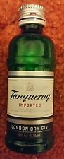 Empty Tanqueray  Gin Plastic Bottle 5cl.