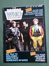 DOCTOR WHO MAG- ISSUE NO 101