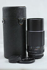 PENTAX M42 200MM F4  SUPER-TAKUMAR CAMERA LENS WITH CASE (EXCELLENT)