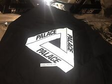 Palace skateboards medium m SS16 classic tri ferg crewneck black white og flocka