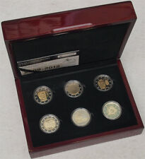 Luxembourg - 6 x 2 euro 2009-2012 PROOF