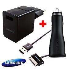 Original Samsung Netzteil + KFZ Ladegerät Ladekabel für Galaxy Note 10.1 N8000
