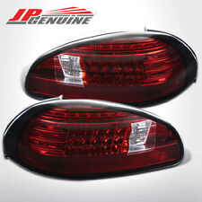 EURO STYLE PHILIPS LED BRAKE TAIL LIGHTS RED / CLEAR - PONTIAC GRAND PRIX 97-03