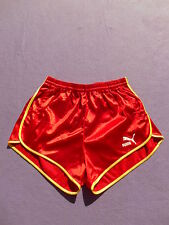 PUMA Shorts Vintage 80s NOS Never Worn Made in France Nylon Sprinter Old 80 XS