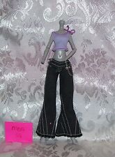MGA CLOTHES OUTFIT SET FOR MONSTER HIGH GIRL DOLL LOT #28 PANTS & SHIRT