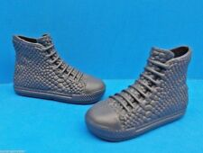 2015 Barbie Shoes Fashionistas KEN RYAN Doll Gray High Top Sporty Sneakers