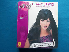 """RUBIE'S FASHION WIGS - PERRUQUE """"GLAMOUR"""" - BRAND NEW IN BOX FOR FANCY DRESS ETC"""