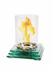 ecoflame Glass Fireplace Table Top 3 layer