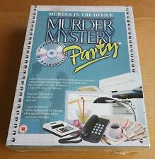 "BV LEISURE; MURDER MYSTERY PARTY  ""MURDER AT THE OFFICE"" WHO KILLED THE BOSS NEW"