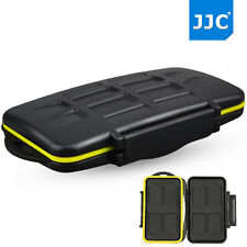 JJC water-resistant Hard Storage Memory Card Case For 8 SecureDigital SD