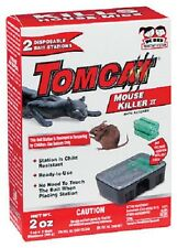 Tomcat Mouse Disposable Sealed Bait Station, 2 Oz.  23320 (2 Stations Per Pack)