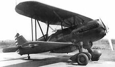 "US.ARMY BIPLANE AIRPLANE 5"" x 7"" BLACK &WHITE Photograph"