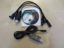 USB Kabel Interface FMS Simulator Spektrum DX4e DX5e DX6 DX6i DX7 DX7S DX8 DX18