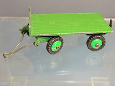 VINTAGE DINKY TOYS MODEL No.420 ( ex 25g ) TRAILER (SMALL) GREEN VERSION
