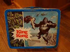 1977 KING KONG MOVIE--METAL LUNCHBOX (LOOK)