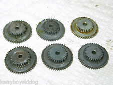 6 X Garcia Mitchell 300 301 Transfer Gear 81032 PARTS USED GOOD -FRANCE - 6 PACK