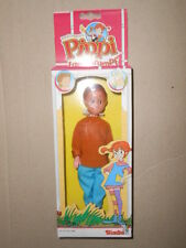 Pippi Longstocking Calze lunghe Bambola Doll Simba Tommy Vintage Rare