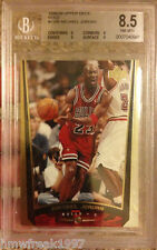 REAL 1/1 1999-2000 MICHAEL JORDAN UPPER DECK GOLD BECKETT BGS GRADED 8.5 NO AUTO