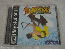 BursTrick Wake Boarding PlayStation One 2001 Natsume PS1 PS2 PS3 Complete