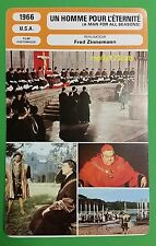US Historical Movie A Man For All Seasons Sir Thomas More French Film Trade Card